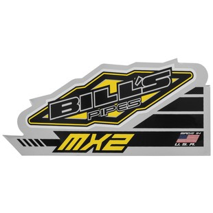 Bill's Pipes MX2 Silencer Decal