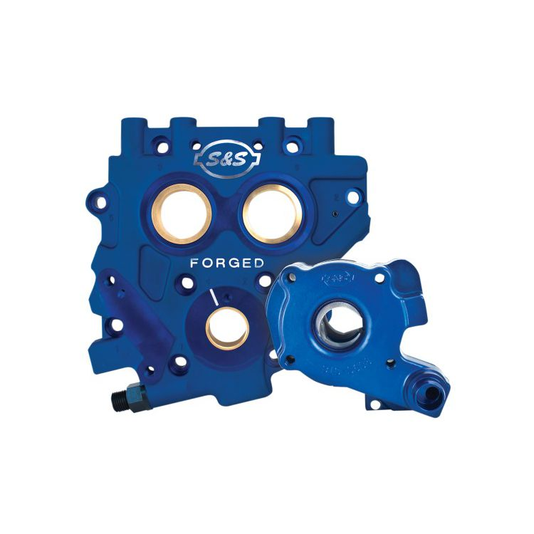 S&S TC3 Oil Pump Cam Support Plate Kit For Harley