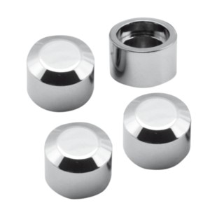 S&S Magnetic Headbolt Covers For Harley