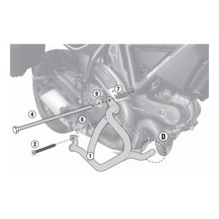 Givi TN7407 Engine Guards Ducati Scrambler 2015-2017