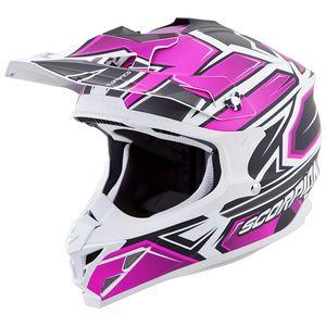 Scorpion VX-35 Finnex Helmet Black/Pink / SM [Blemished - Very Good]
