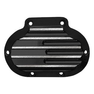 Covingtons Finned Transmission Side Cover For Harley 2006-2017 Black / Cable Clutch [Previously Installed]