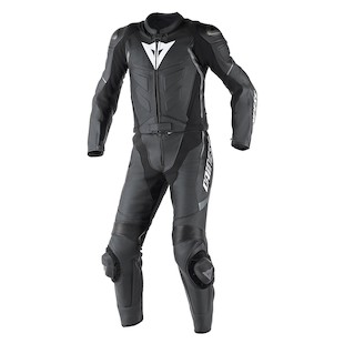 Dainese Avro D1 Two Piece Race Suit Black/Black/Anthracite / 48 [Demo - Good]