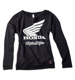 Troy Lee Women's Honda Wing Crew Shirt