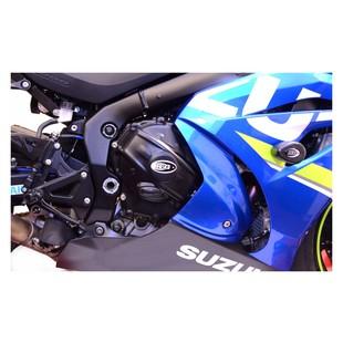 R&G Racing Race Series Clutch / Idler Gear Cover Suzuki GSXR1000 2017