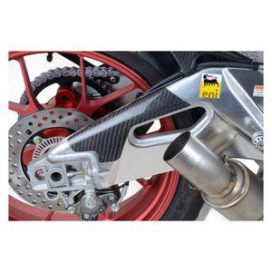 R&G Racing Carbon Fiber Swingarm Guard Aprilia RSV4 / Tuono V4 2015-2018