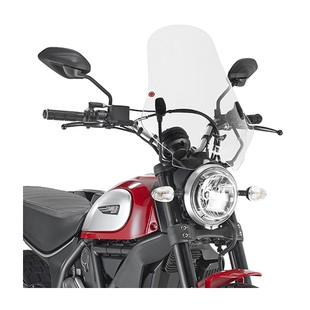 Givi 7407A / 7407AS Windscreen And Kit Ducati Scrambler 2015-2017