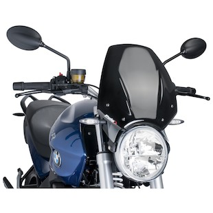 Puig Naked New Generation Windscreen BMW R1200R 2006-2014 Dark Smoke [Previously Installed]