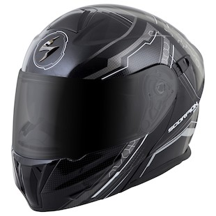 Scorpion EXO-GT920 Satellite Helmet Silver / SM [Open Box]