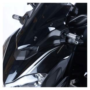 R&G Racing Front Turn Signal Adapter Plates Kawasaki Z900 2017