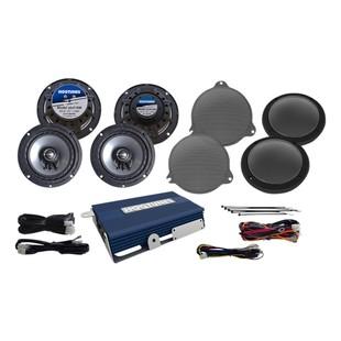 Hogtunes Speaker And Amp Kit For Harley Ultra 2014-2017