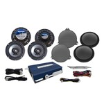 Hogtunes Speaker And Amp Kit For Harley Ultra 2014-2018