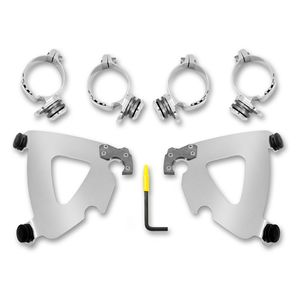 Memphis Shades Road Warrior Trigger Lock Mount Kit For Harley 2006-2020