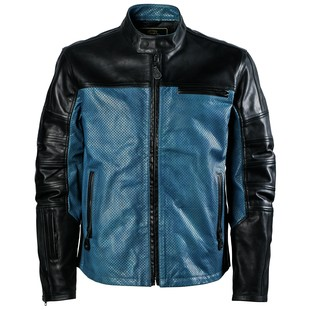 Roland Sands Ronin Colorblock Perforated Leather Jacket