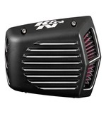 K&N Street Metal Shaker Air Intake Kit For Harley