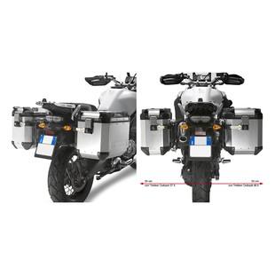 Givi Trekker Outback Case And Luggage Rack Kit Yamaha Super Tenere 2010-2017