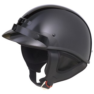 GMax GM35 Fully Dressed Helmet - Black / XL [Open Box]