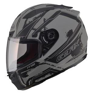 GMax FF88 X-Star Helmet Matte Black/Dark Silver / SM [Open Box]
