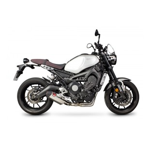 Scorpion Serket Parallel Slip-On Exhaust Yamaha XSR900 2016-2017