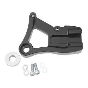 Performance Machine Vintage Caliper Rear Brake Bracket For Harley Dyna 1991-1999 Black [Previously Installed]