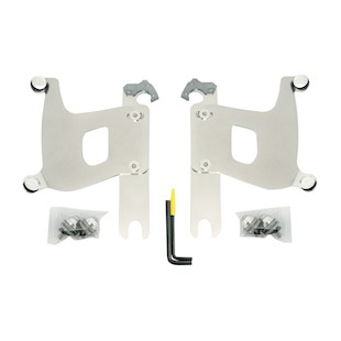Memphis Shades Bullet Fairing Trigger-Lock Mount Kit For Harley Softail 1986-2017 Polished [Previously Installed]