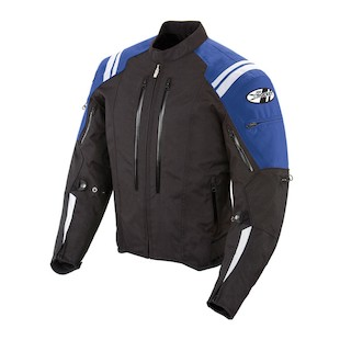 Joe Rocket Atomic 4.0 Jacket Black/Blue / SM [Demo - Good]