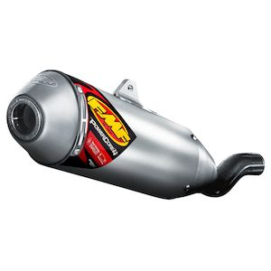 FMF PowerCore 4 Slip-On Exhaust Husqvarna TC450 2009 Stainless Steel/Aluminum/Stainless Steel [Blemished - Very Good]