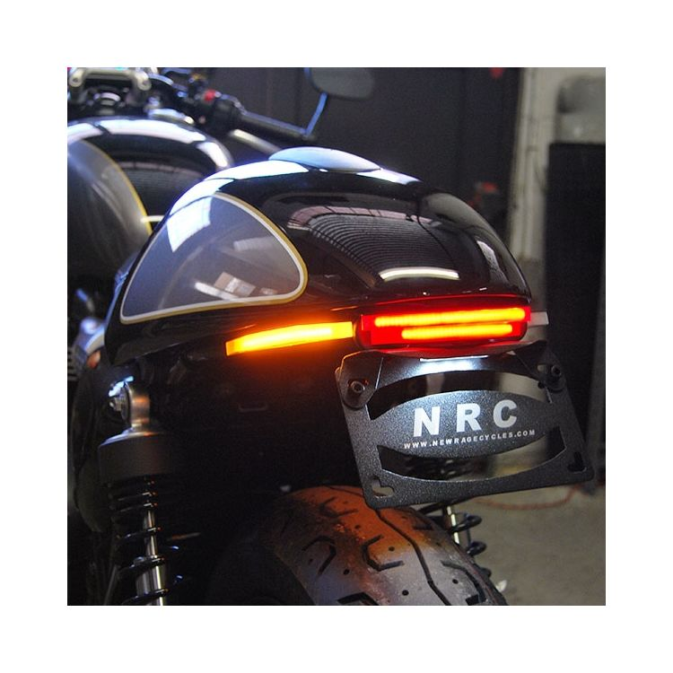 New Rage Cycles LED Fender Eliminator Triumph Street Cup 2017-2018
