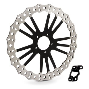 "Arlen Ness 14"" Offset Big Brake Front Rotor For Indian Scout 2015-2018"