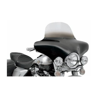 "Memphis Shades Batwing Fairing Windshield For Harley Black / 7"" [Previously Installed]"