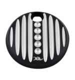 Ken's Factory Dimpled Fuel Door For Harley Touring 2008-2017