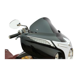 """Klock Werks Flare Windshield For Indian Chieftain 2014-2016 Black / 12"""" Tall [Previously Installed]"""