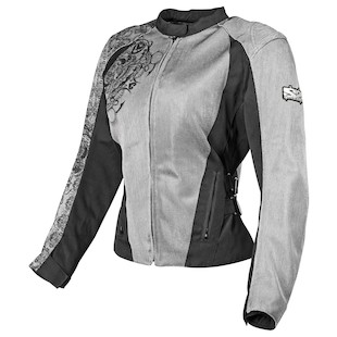 Speed and Strength Wicked Garden Women's Mesh Jacket Silver / WSM [Demo - Good]