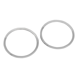Drag Specialties Speaker Bezels For Harley Touring 1996-2013
