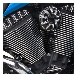 Arlen Ness 10-Gauge Tensioner Covers For Victory Baggers