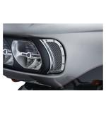 Kuryakyn Mesh Headlight Vent Accents For Harley Road Glide 2015-2018