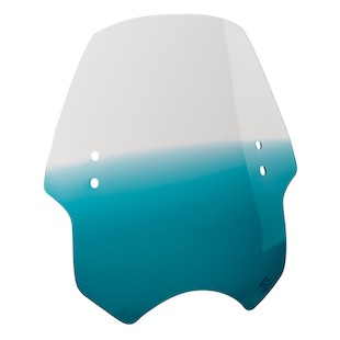 Memphis Shades Hell Cat Handlebar-Mounted Windshield Gradient Teal [Blemished - Very Good]