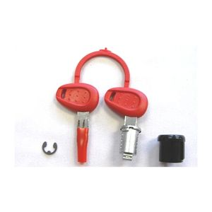 Givi Z140R / Z227 / Z228 / Z1382 Red / Silver Key Lock Set
