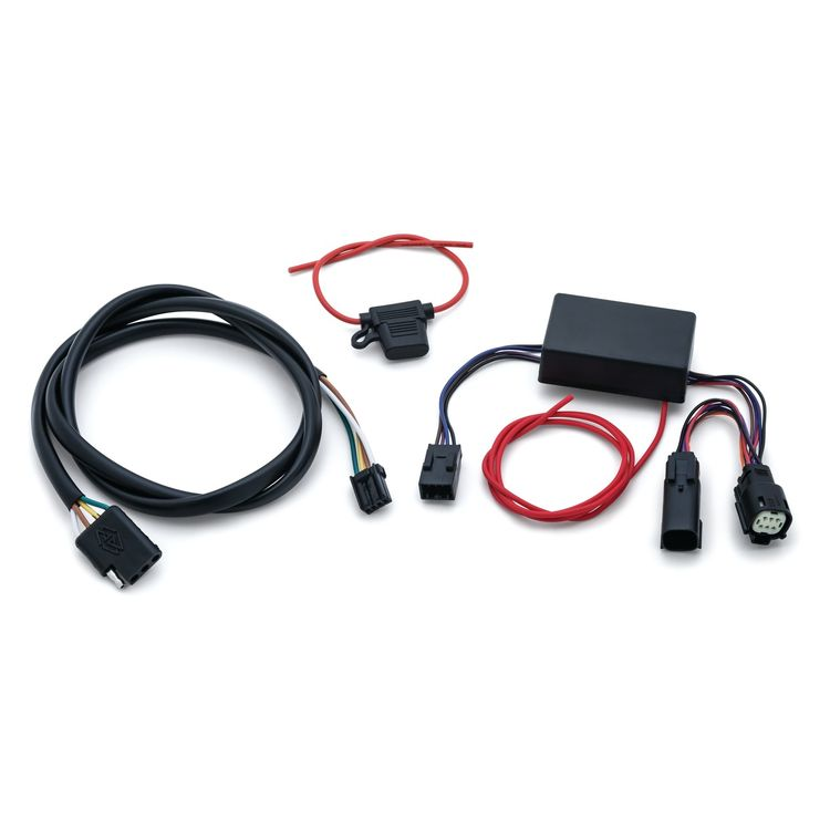 Kuryakyn Trailer Wiring Kit For Harley Touring 2014-2021 | 10% ($13.00)  Off! - RevZillaRevZilla