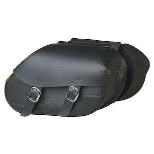 Willie & Max Revolution Swooped Hard Mount Saddlebags Black / SM [Previously Installed]