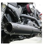 S&S Grand National Slip-On Muffler For Harley Street 2014-2017