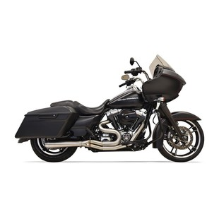 Bassani Road Rage Stainless 2-Into-1 Short Exhaust For Harley Touring