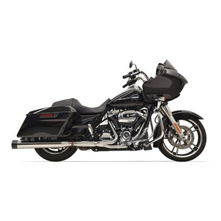 Bassani 2x2 Dual Head Pipes For Harley Touring 2017