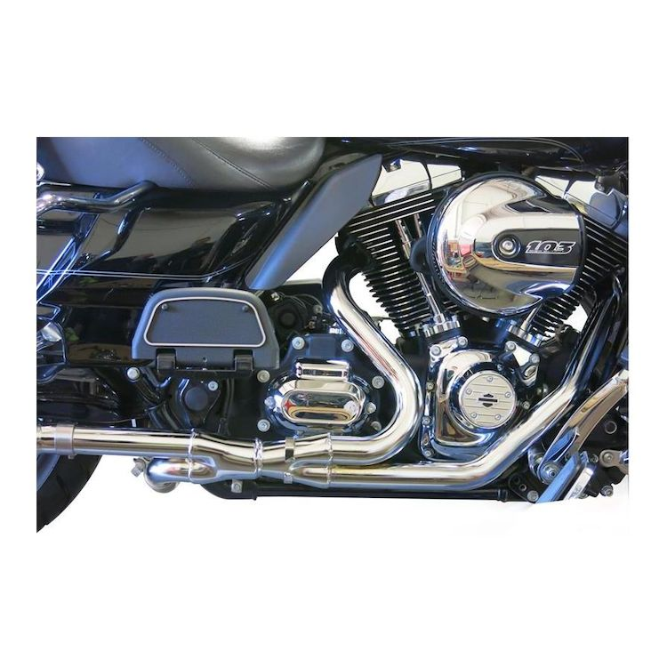Bassani 2x2 Dual Head Pipes For Harley Touring