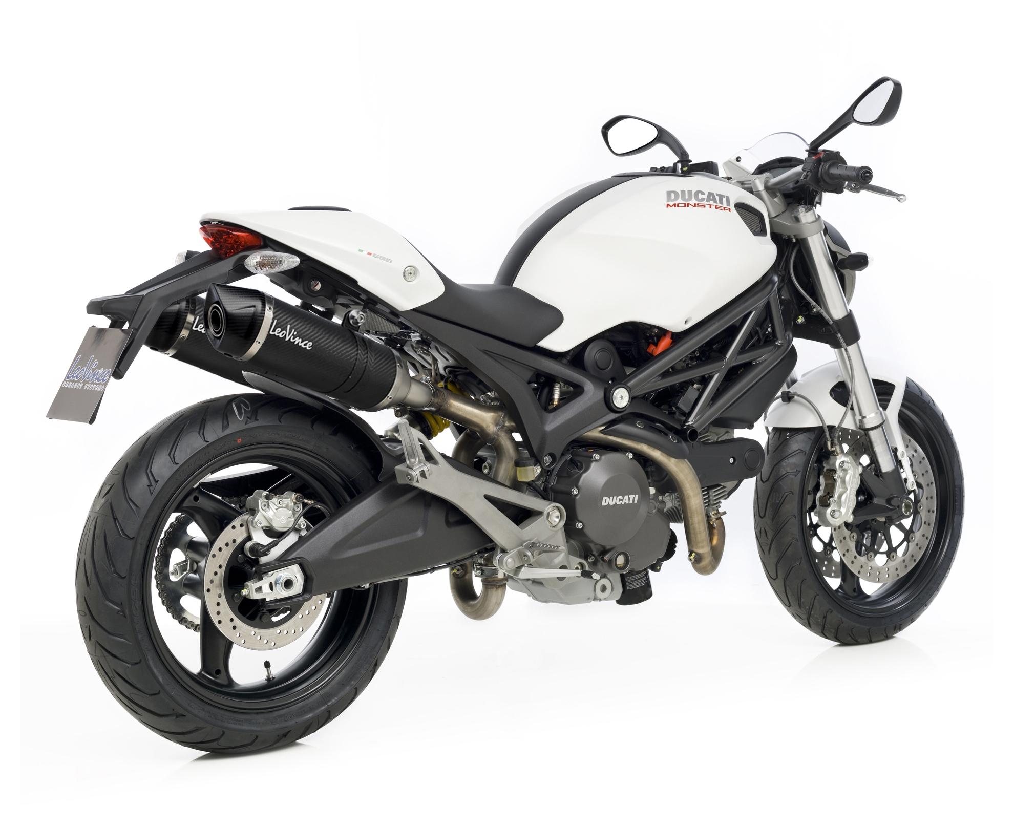Leovince Lv One Evo Slip On Exhaust Ducati Monster 696 796 1100 Hypermotard Engine Diagram Valve S Revzilla