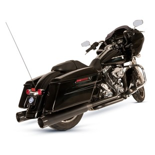 S&S El Dorado Dual Exhaust With Tracer Mufflers For Harley Touring 2009-2016