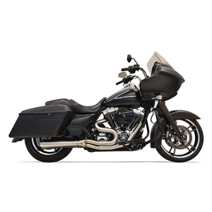 Bassani Road Rage III Stainless 2-Into-1 Short Exhaust For Harley Touring 1995-2006