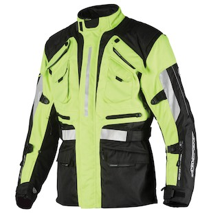 AGV Sport Navigator Jacket Black/Hi-Viz Yellow / 2XL [Demo - Good]