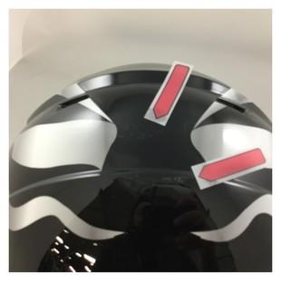 AFX Youth FX-17Y Flag Helmet Stealth Black / MD [Blemished - Very Good]
