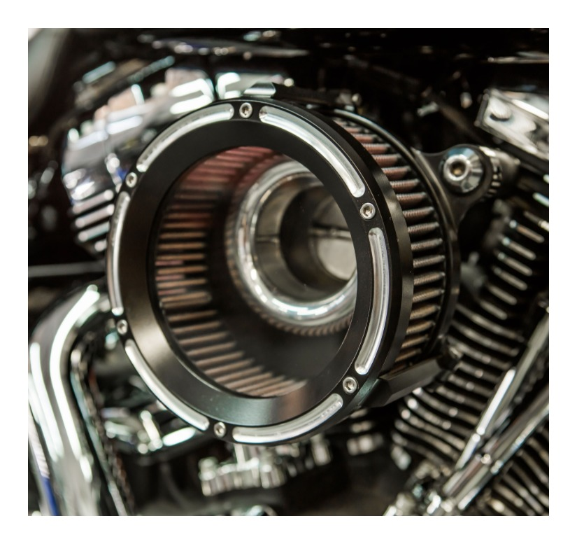 Trask Assault Charge High Flow Air Cleaner For Harley Milwaukee Eight  2017-2019